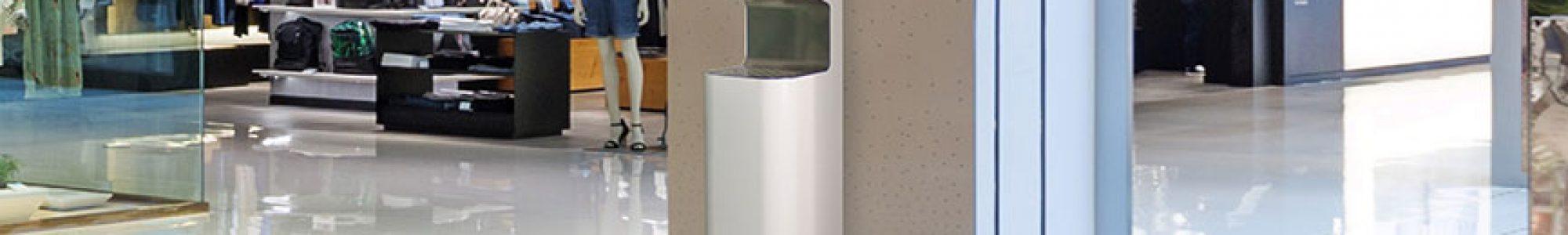 aula käsidesiautomaatti
